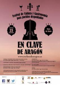 Lee más sobre el artículo El 23 de Septiembre se celebra la II Edición del Festival En Clave de Aragón en Muro de Roda.