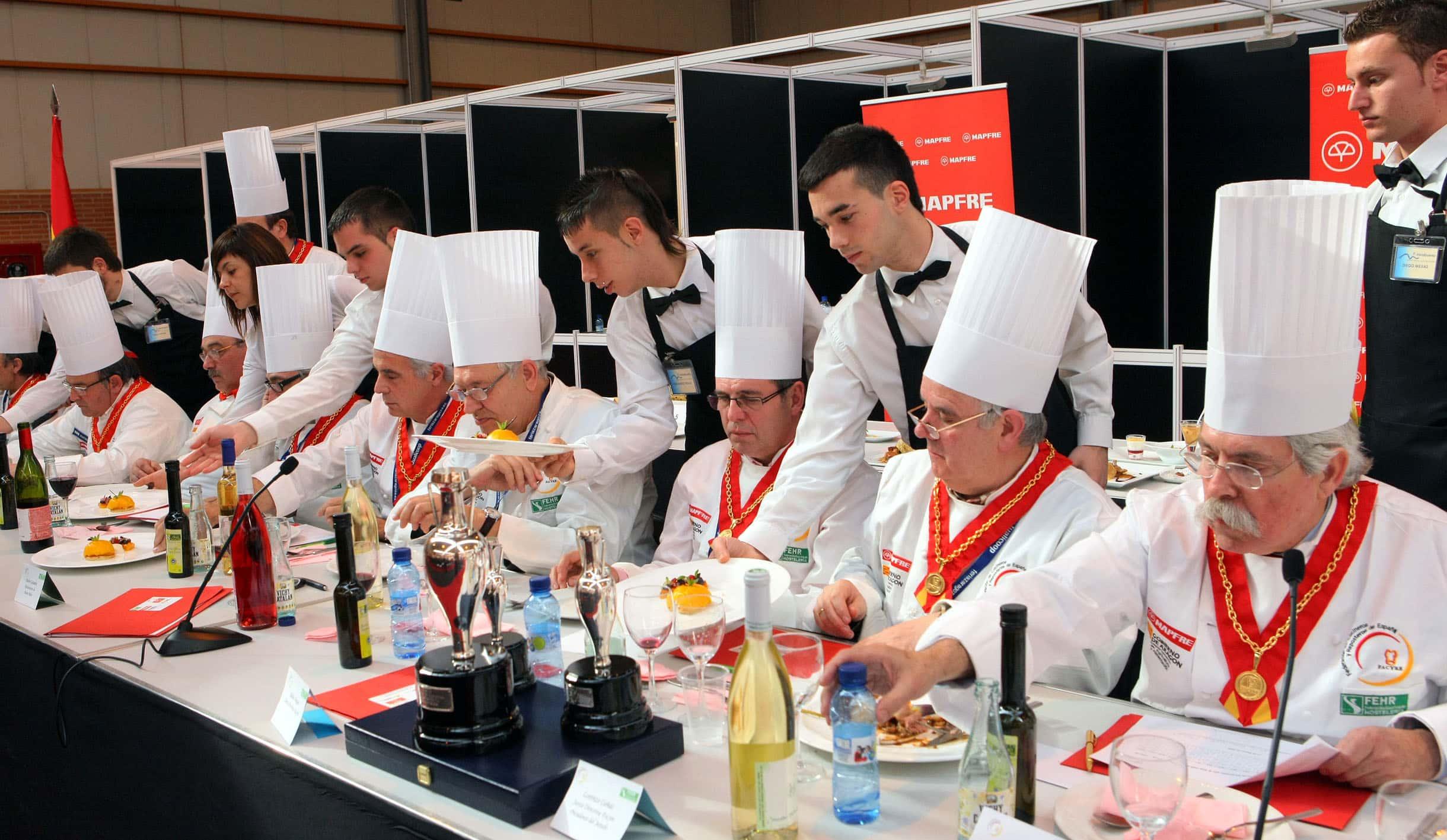 En este momento estás viendo Zaragoza fue una fiesta gastronómica en el 2009, sede del IX Cermanen Nacional de Gastronomía