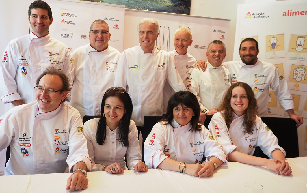 En este momento estás viendo Selección de cocineros aragoneses que competirán en el XVI Certamen de Cocina y Repostería de Aragón