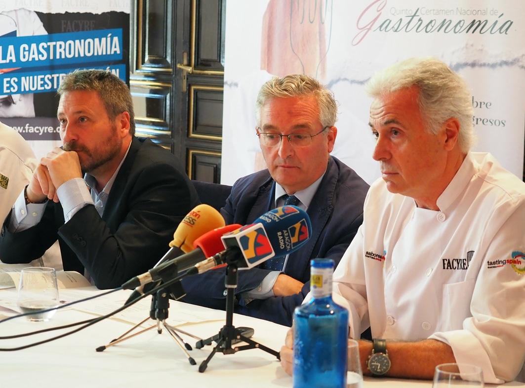 En este momento estás viendo Aragón acogerá el V Certamen Nacional de Gastronomía y premiará al Mejor Cocinero y Repostero de España