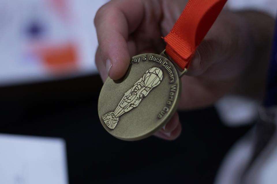 En este momento estás viendo Medalla de bronce de la Selección Española de Cocina Profesional Asoc.