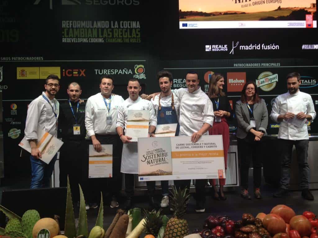 Lee más sobre el artículo El ganador del concurso 'Cocina Carne Sostenible y Natural de Lechal, Cordero y Cabrito' es de Aragón