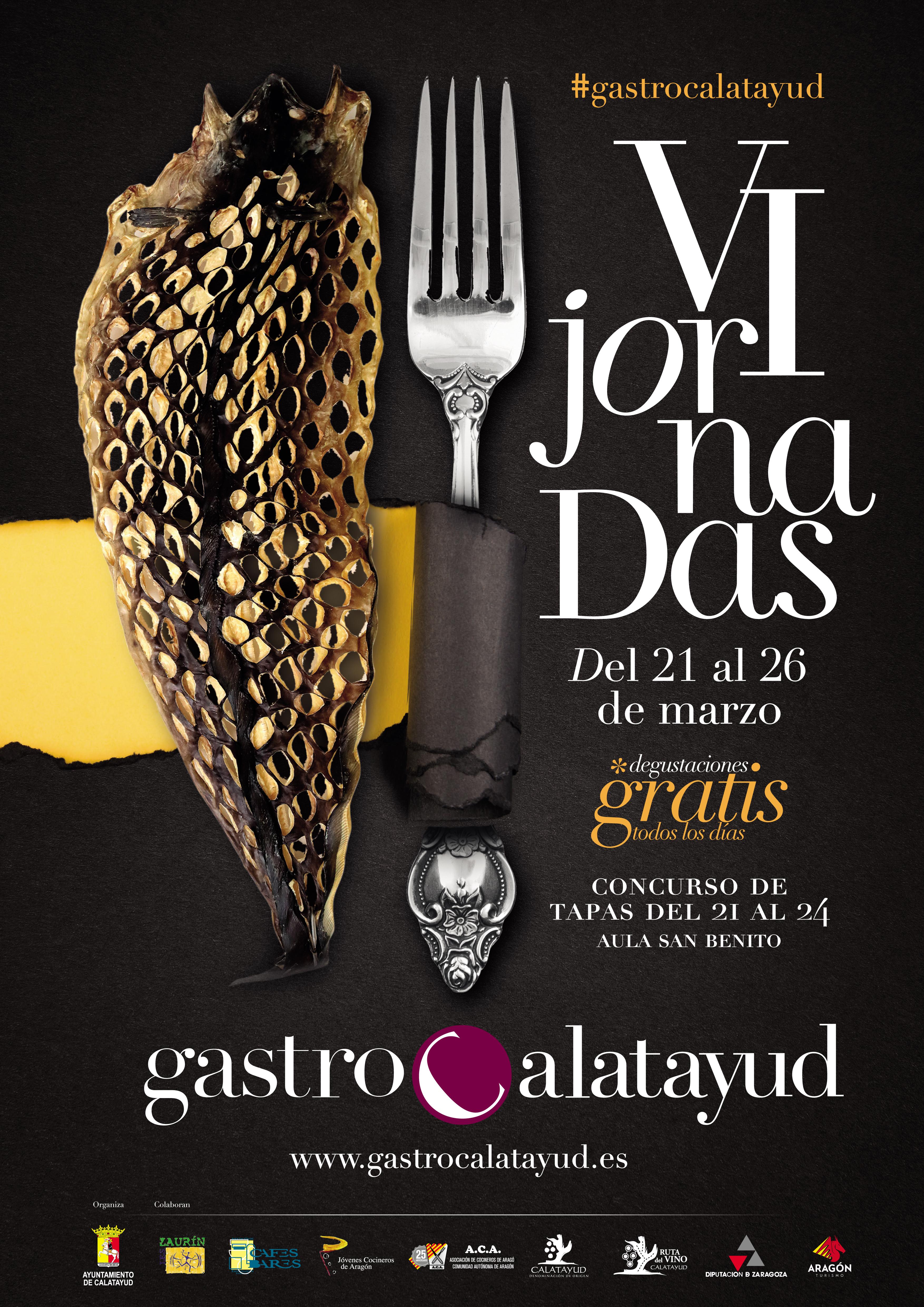 Lee más sobre el artículo Del 21 al 26 de marzo celebramos GastroCalatayud
