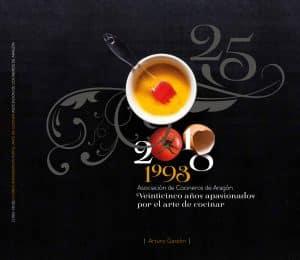 """Lee más sobre el artículo Cena XXV aniversario y presentación del libro """"Veinticinco años apasionados por el arte de cocinar"""""""