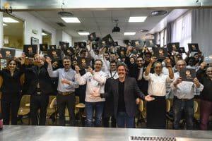 Lee más sobre el artículo Cocina retrospectiva en Topi para celebrar la presentación del libro 25 años apasionados  por el arte de cocinar