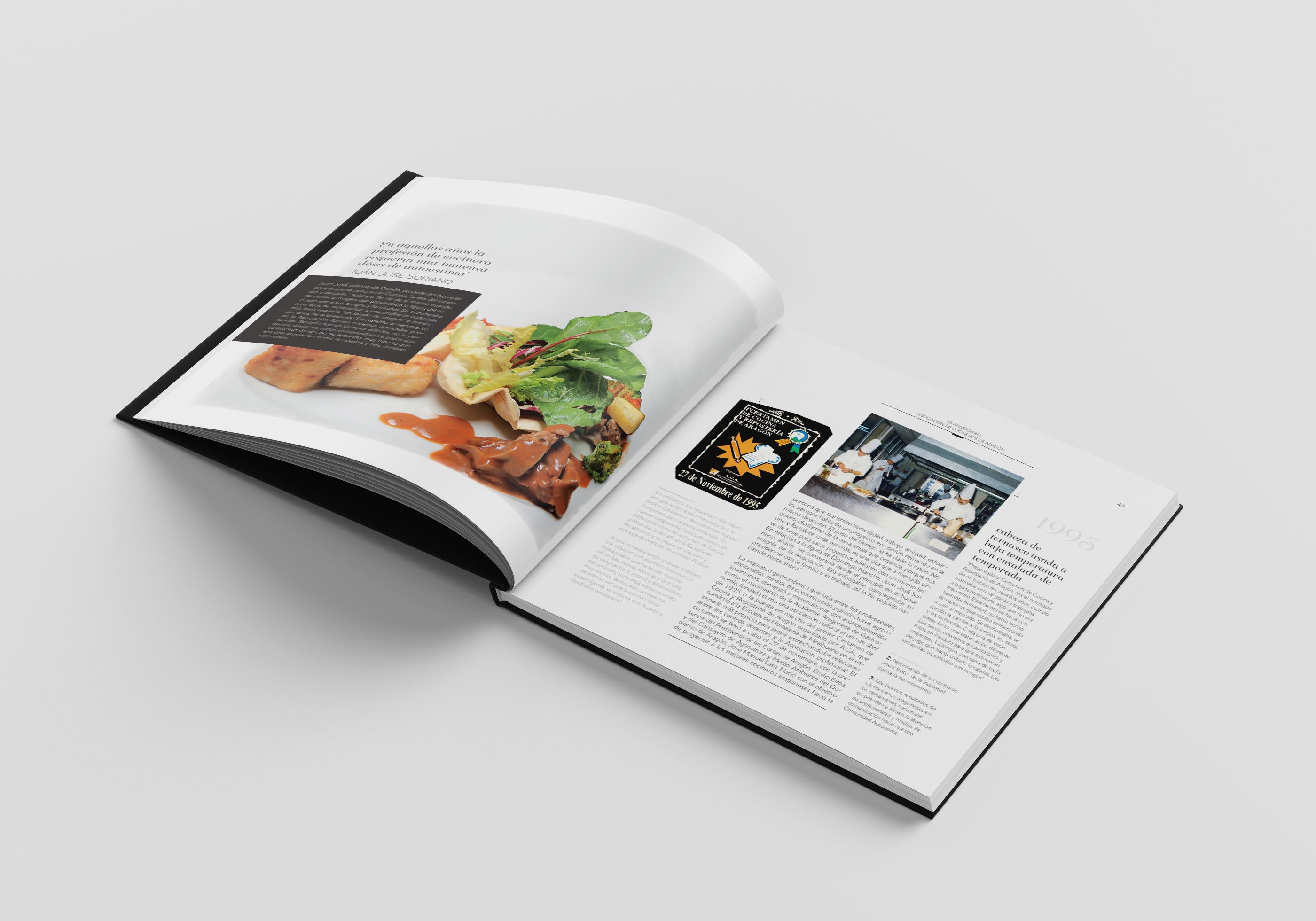 Lee más sobre el artículo Cocina retrospectiva en la Escuela Topi para presentar el libro 25 años ACA