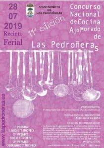 Lee más sobre el artículo Concurso nacional de cocina de ajo morado de Las Pedroñeras