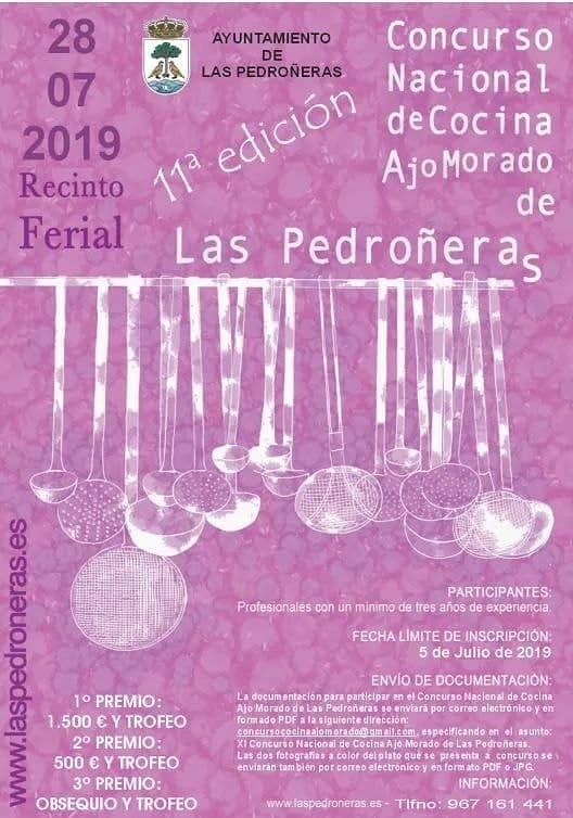 En este momento estás viendo Concurso nacional de cocina de ajo morado de Las Pedroñeras