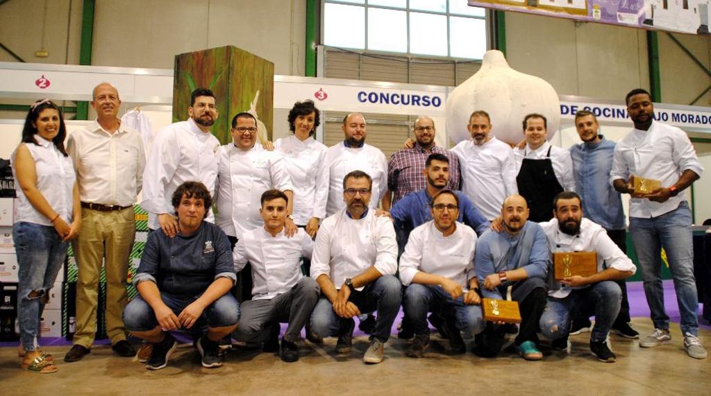 En este momento estás viendo El tercer premio para Reynol Osorio en el XI Concurso Nacional de Cocina Ajo Morado de Las Pedroñeras