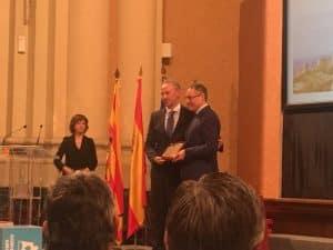 Lee más sobre el artículo Carmelo Bosque ha sido galardonado con la Placa al Mérito Turístico