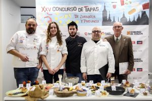 Lee más sobre el artículo Jurado de excepción en la final del Concurso de Tapas Zaragoza