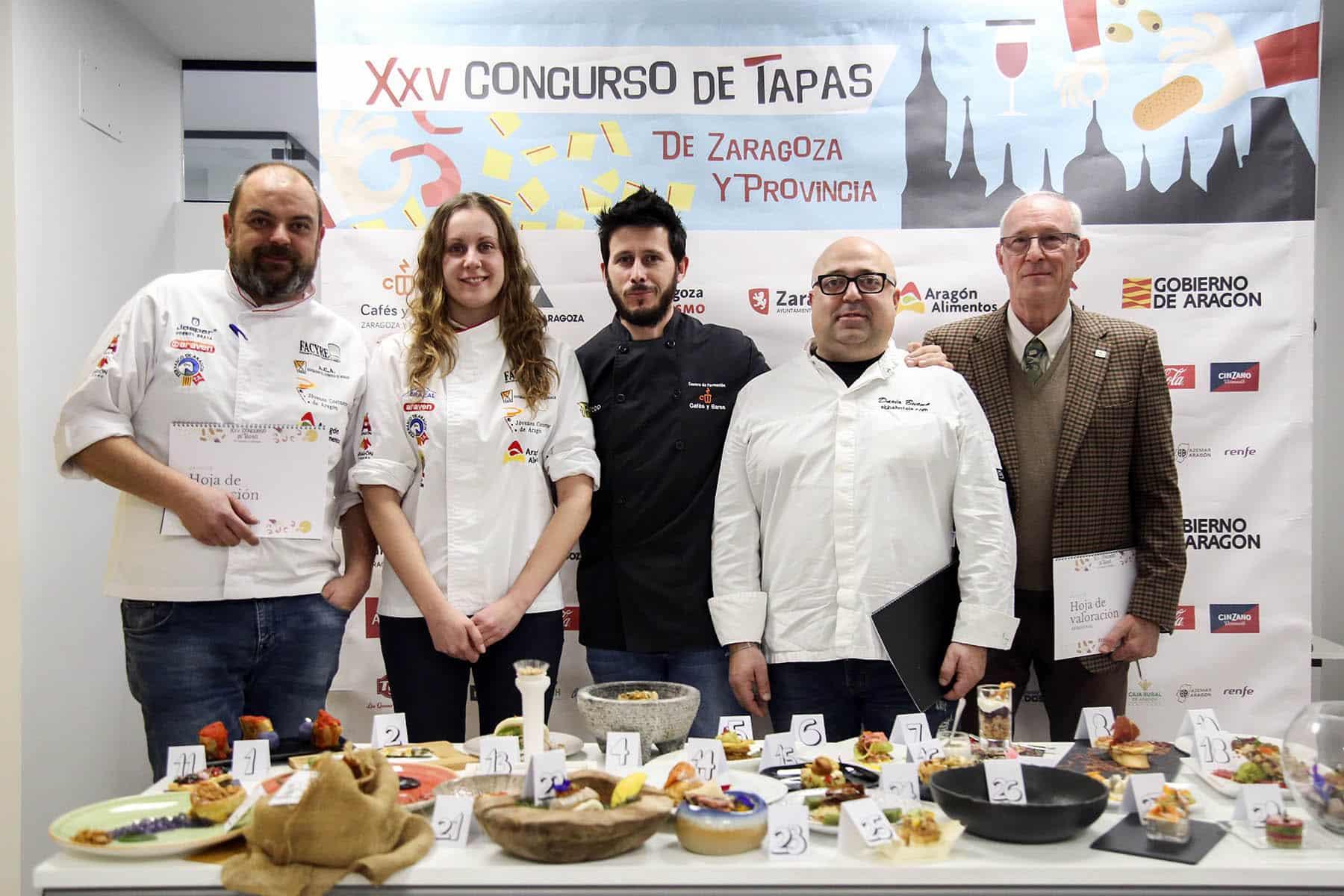 En este momento estás viendo Jurado de excepción en la final del Concurso de Tapas Zaragoza
