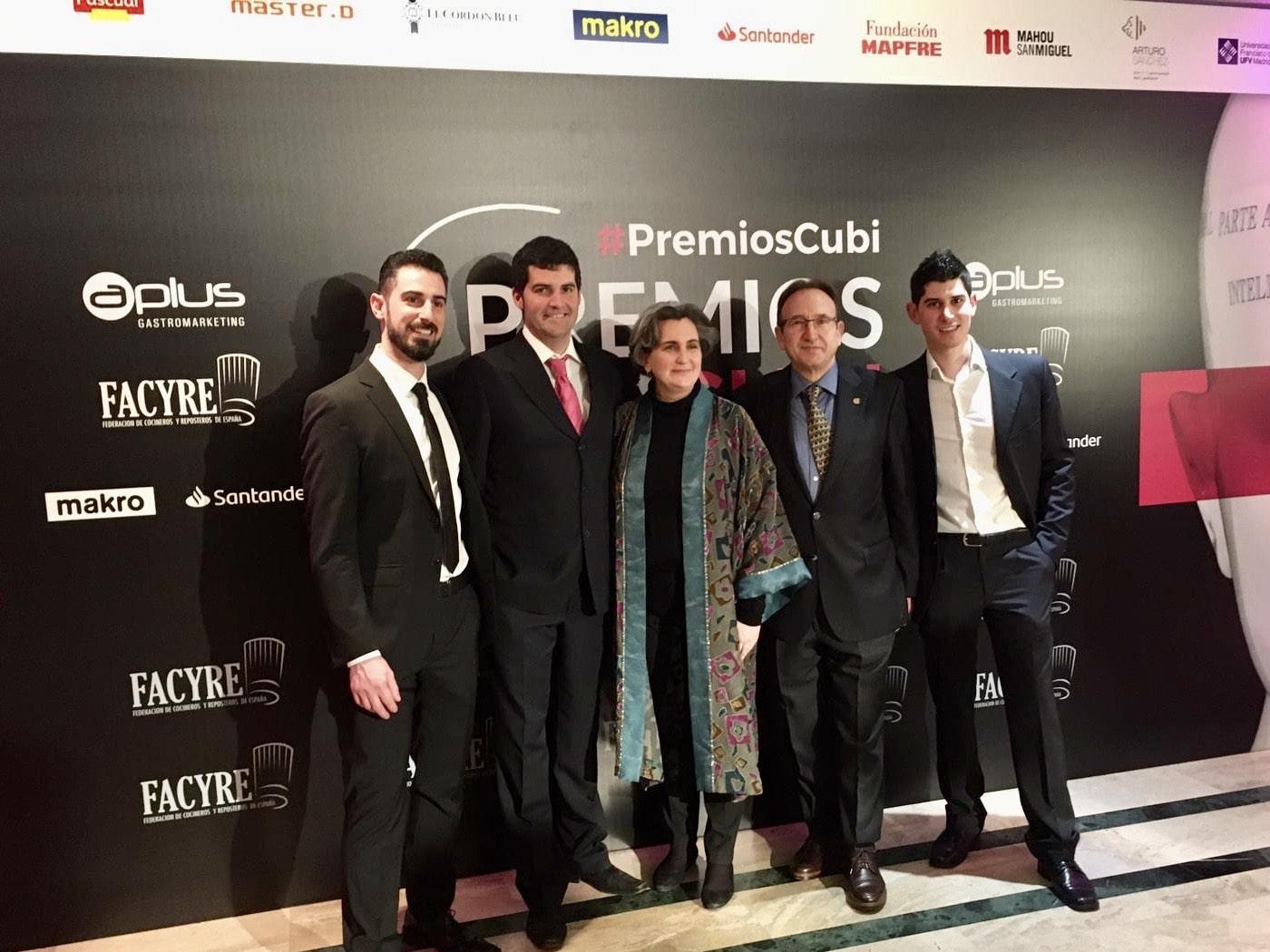Lee más sobre el artículo La Asociación de Cocineros de Aragón muy presente en la IV Edición de los Premios Cubí de Facyre