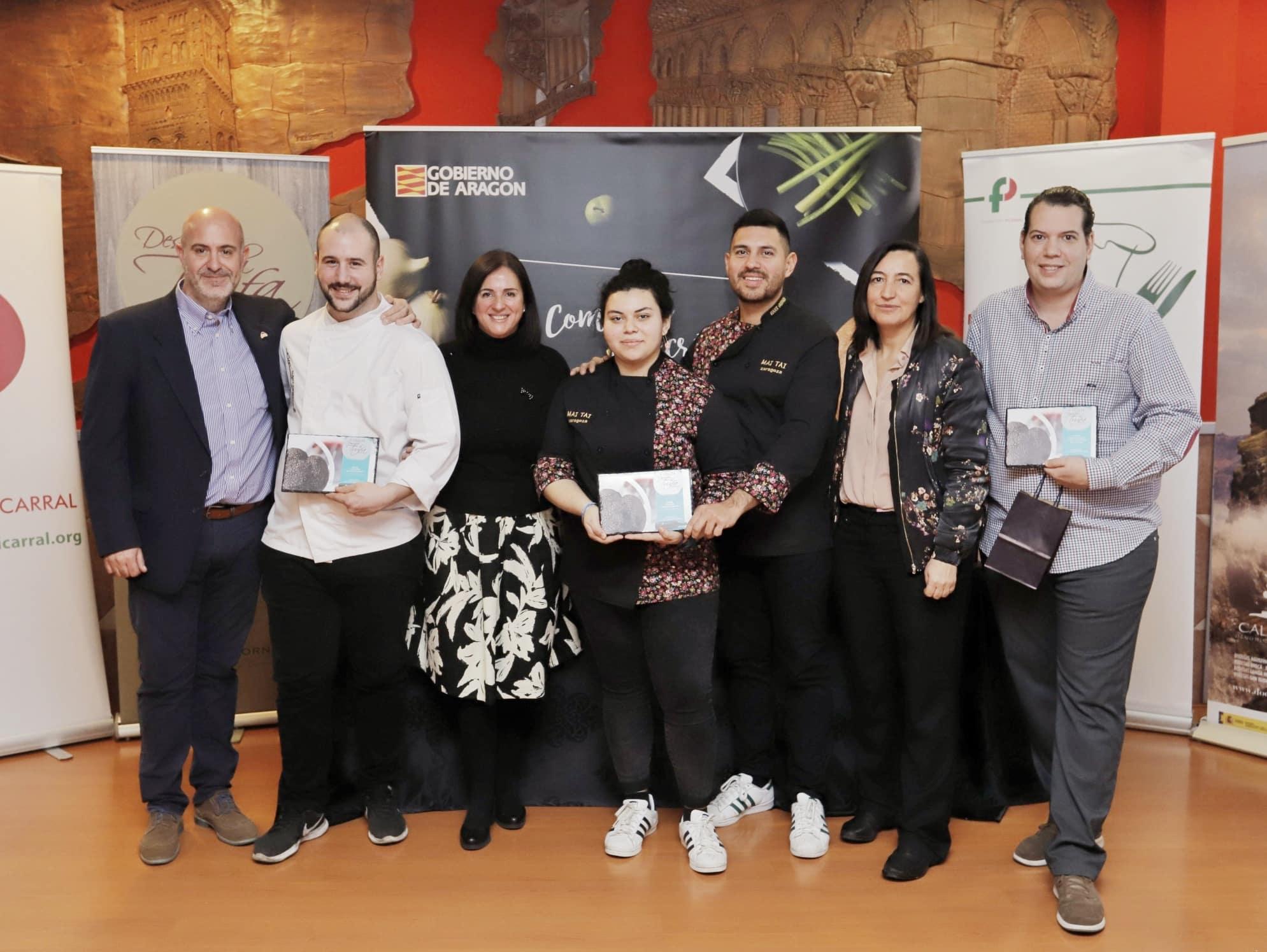 Lee más sobre el artículo MAI TAI y Casa Escartín ganadores en Descubre la Trufa