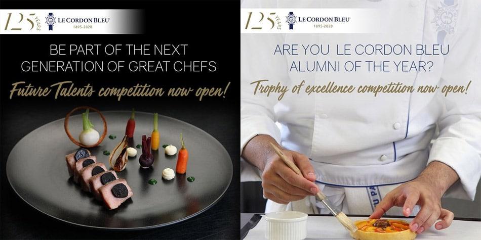 Lee más sobre el artículo Le Cordon Bleu ha organizado dos concursos
