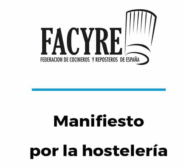 Lee más sobre el artículo Manifiesto del sector de la hostelería ante el Congreso